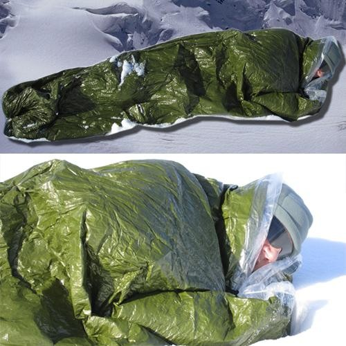 Blizzard Survival Bag Military - termoizolační spací vak